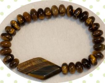 tigers eye handmade bracelet