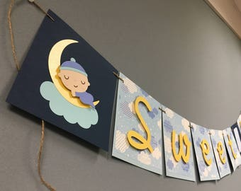 Sweet Dreams Baby Shower Banner