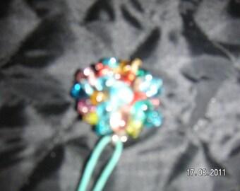 MULTICOLOR beads PENDANT