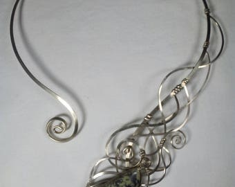 Choker with Serpentine