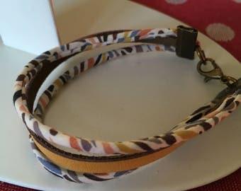 Bracelet trend liberty/yellow