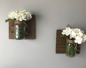 Mason Jar Wall Decor