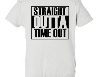 Toddler Tee, Funny toddler tee, Time Out Onesie, Cool Kids Shirts, Custom Toddler Tee, Toddler Baseball Shirt