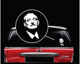 Bill Murray Silhouette Vinyl Decal Sticker