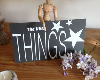 """The little Things"" decal"