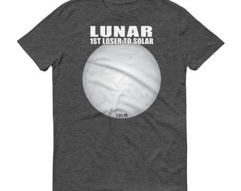 Funny Lunar Eclipse T-Shirt, Eclipse T-Shirt, Lunar Shirt, Moon Eclipse T-Shirt, Total Lunar 2018 Eclipse Tee Shirt
