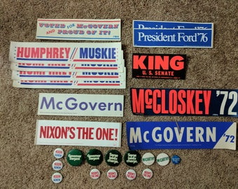 Collection of Political Memorabilia