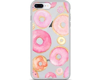 iPhone Case,Donut iphone cover, Case iphone donut,Iphone donut,Iphone pink cover,case pink,donut pink
