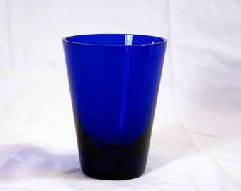 Bristol Blue Glass Tumbler