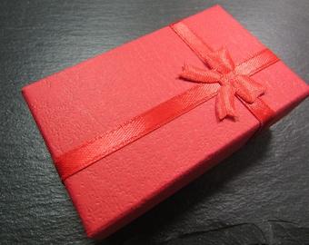 1 box gift jewelry 5 x 8 cm