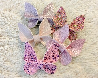 Butterfly Hair Bow or Clip