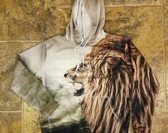 Beloved King of Lions Full Graphic hoodie 10/10