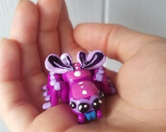 Fantasy Spider Figurine | Polymer Clay | Fantasy Animal Sculpture