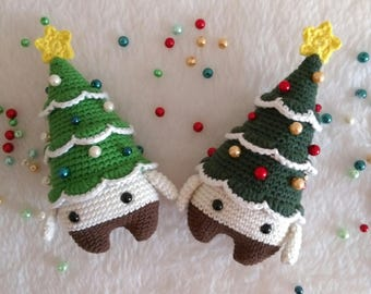 Amigurumi Christmas Tree Xaver