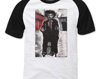 San Simón, Indigenous Saint of Guatemala Raglan sleeve T-shirt