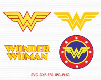 Wonder woman SVG, superhero svg, wonder woman sign, use with Cricut & Silhouette