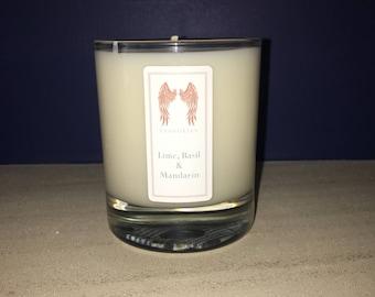 Lime Basil & Mandarin Soy Candle