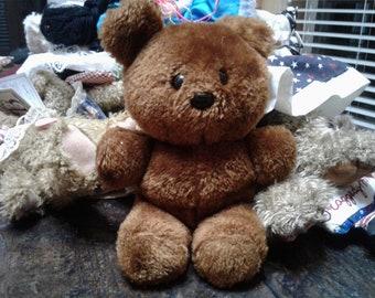 Vintage pookie teddy bear/toy stuffed bear