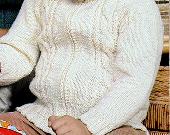 Zipper Cable Knit Jacket, Knitting Pattern, Instant Download.
