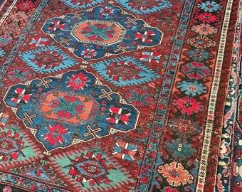 Kilim Sumaka Lina .Vintige carpet 1.90/2.90 m.Handmade carpet .