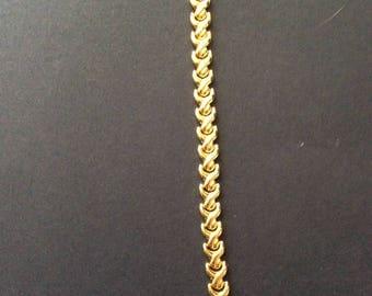 Elegant Gold Tone Bracelet [SKU300]