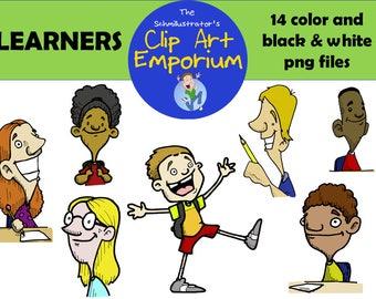 Learners Clip Art