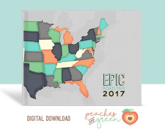 Epic Road Trip / Photo Book COVER / Digital Download Only