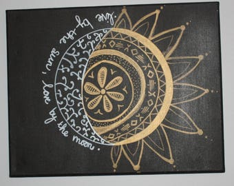 Moon and Sun Painting