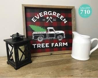 Tree Farm Sign