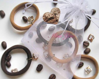 "Elastic Hair Band ""MOCCA"" Hair Accessories"