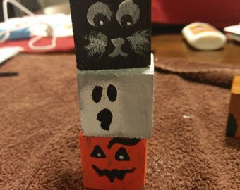 Halloween blocks