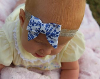 Delft Baby Sailor Bow