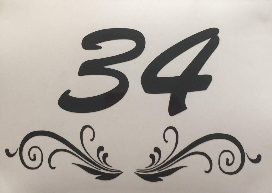 * Sticker numéro pour Boite aux Lettres *
