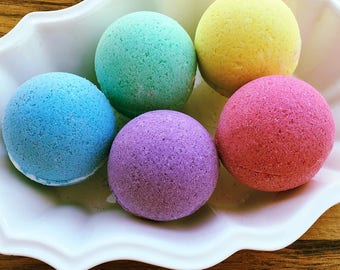 neon bath bombs