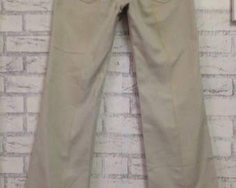 Rare! Vintage RM.WILLIAMS by LongHorn Jeans Sz 30x30 Cream Colour