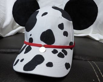 Custom 101 Dalmatian Mickey ears baseball hat