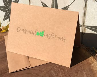 Congratuf*ckinglations greeting card (A)