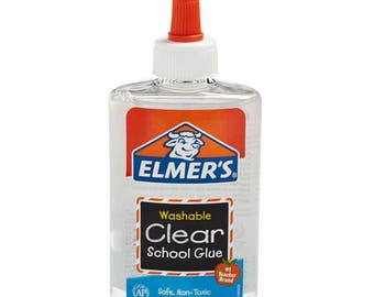 Elmer's clear glue bottle 5 oz - ships today