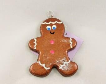 Gingerbread Boy Ornament