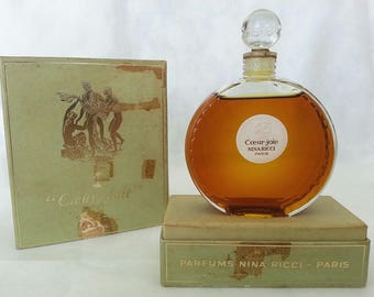 COEUR JOIE Nina Ricci 52.5 ml Parfum Vintage 1946 LALIQUE Sealed