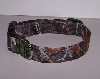 Crazy For Camo True Timber Kanati Dog Collar Camouflage