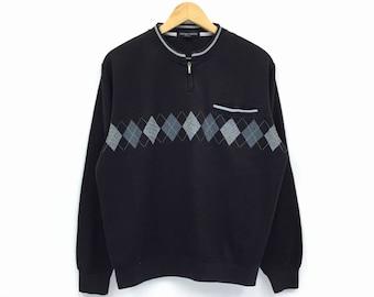 Rare!!Vintage Sacsny Ysaccs Sweatshirt Pullover Jumper