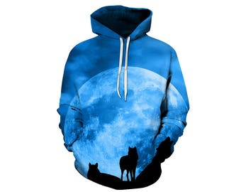 Wolf Hoodie, Wolf, Wolf Hoodies, Animal Prints, Animal Hoodie, Animal Hoodies, Wolves, Hoodie Wolf, Hoodie, 3d Hoodie, 3d Hoodies - Style 27