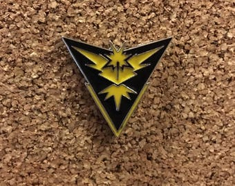 Pokemon GO Team Instinct Enamel Pin