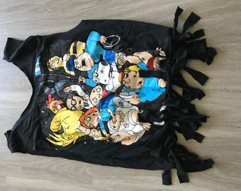 Recycled tshirt bag - Family Guy