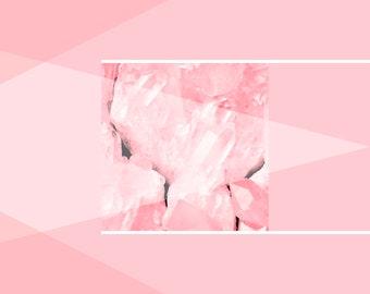 Crystal design poster