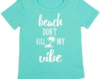 Minty Beach Vibes Tee