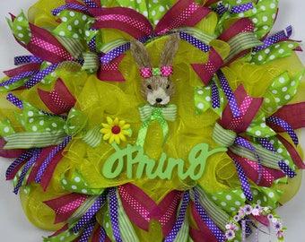 """The """"Spring Forward"""" Door Wreath"""