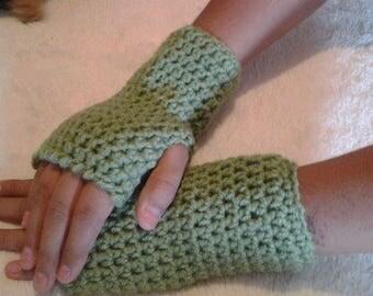 Fingerless gloves,  Handmade. Crochet Gloves, Driving gloves, Crochet Wrist Warmers  PC155