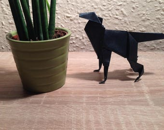 Origami Wolf, Paper Wolf